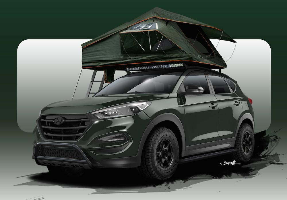 SEMA Preview: Pangilinan Hyundai Tucson
