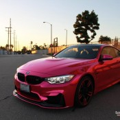 Pink Chrome BMW M4 1 175x175 at What Do You Think of This Pink Chrome BMW M4?