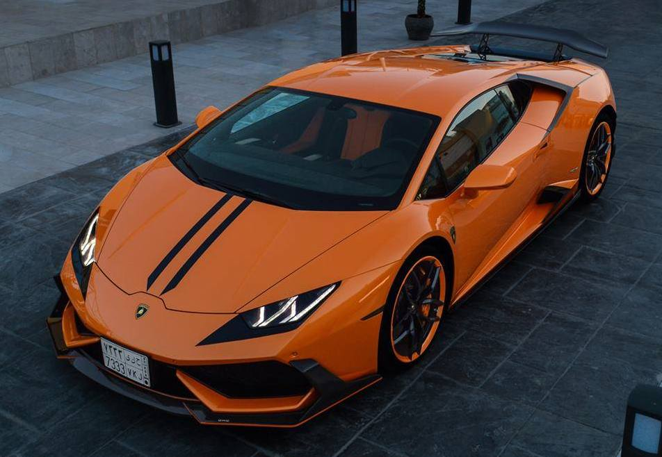 Dmc Lamborghini Huracan With Heavy Mascara