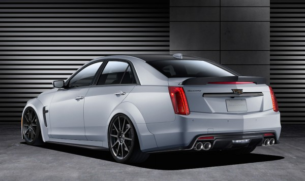 Hennessey Cadillac CTS V HPE1000 1 600x357 at Hennessey Cadillac CTS V HPE1000 Detailed