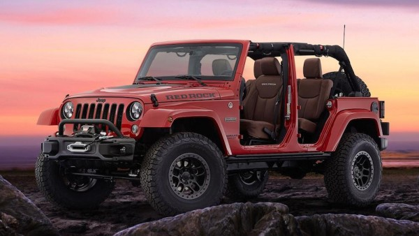 Jeep Wrangler Red Rock 1 600x338 at Jeep Wrangler Red Rock Unveiled at SEMA