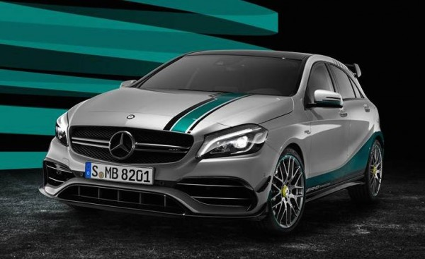 Mercedes A45 AMG World Champion 0 600x367 at Official: Mercedes A45 AMG 2015 World Champion Edition
