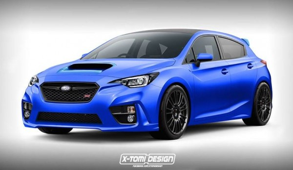 Next Gen Subaru WRX STI 600x348 at Rendering: Next Gen Subaru WRX STI