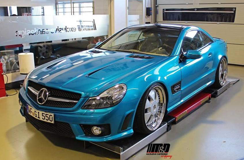 Prior Design Mercedes Sl Pd63 In Atomic Teal