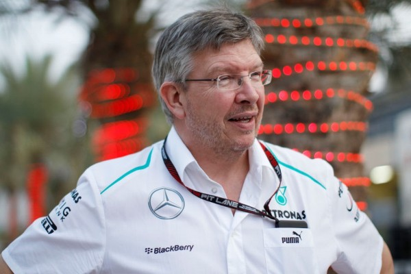 Ross Brawn Mercedes 600x400 at Ross Brawn: The Brains Behind Hamiltons Legend