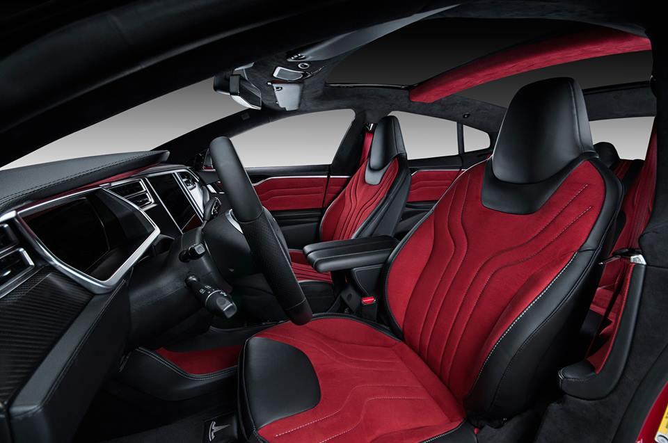 Vilner Tesla Model S Gets Custom Interior