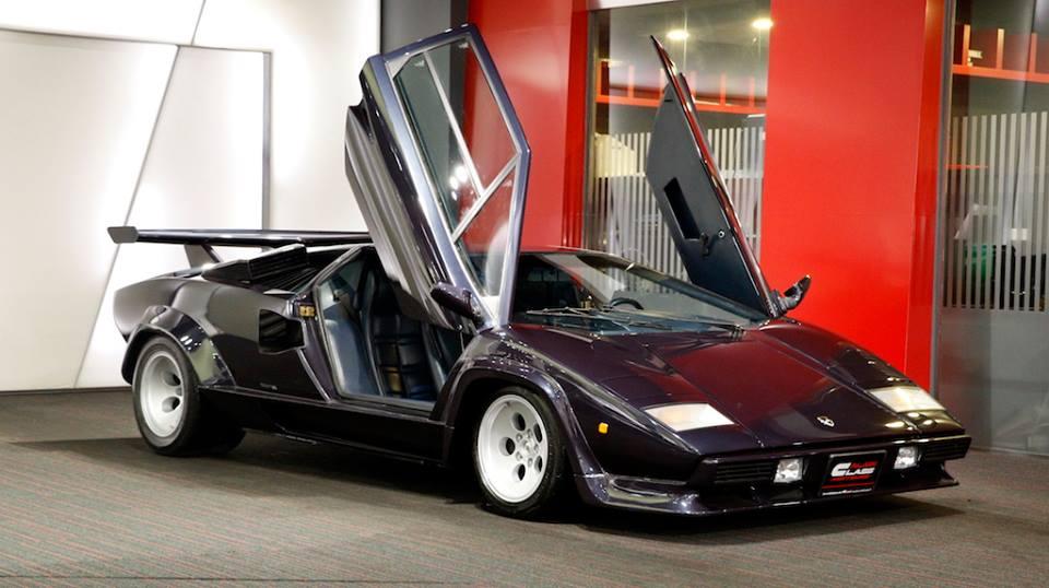 1979 Lamborghini Countach Shines At Alain Class