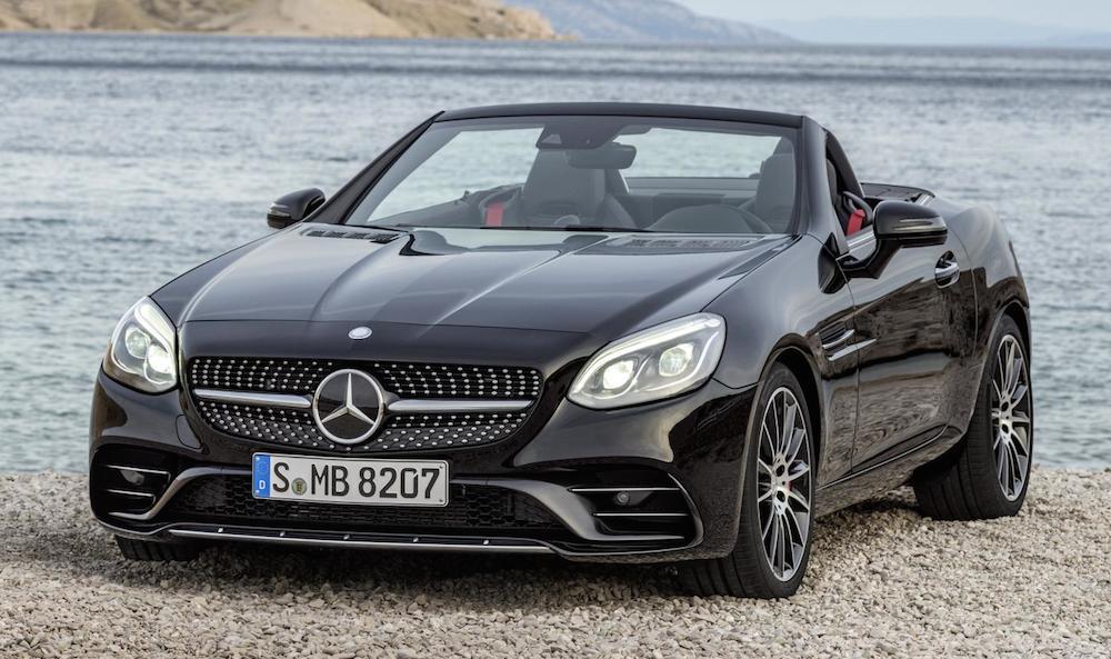 Official: 2017 Mercedes SLC