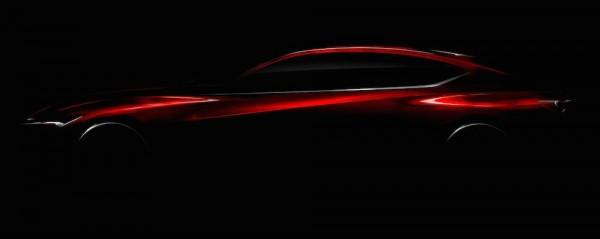Acura Precision Concept 600x239 at Acura Precision Concept Teased for NAIAS 2016