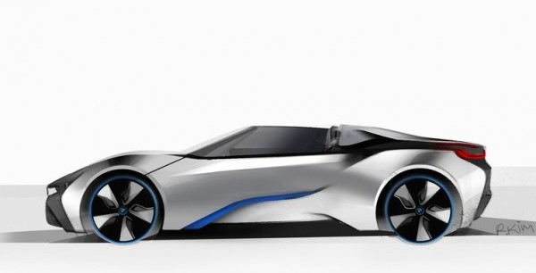 BMW i8 Spyder 600x306 at Production Ready BMW i8 Spyder Headed for CES Debut