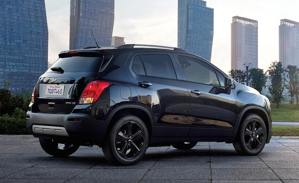 Official Chevrolet Trax Midnight Edition