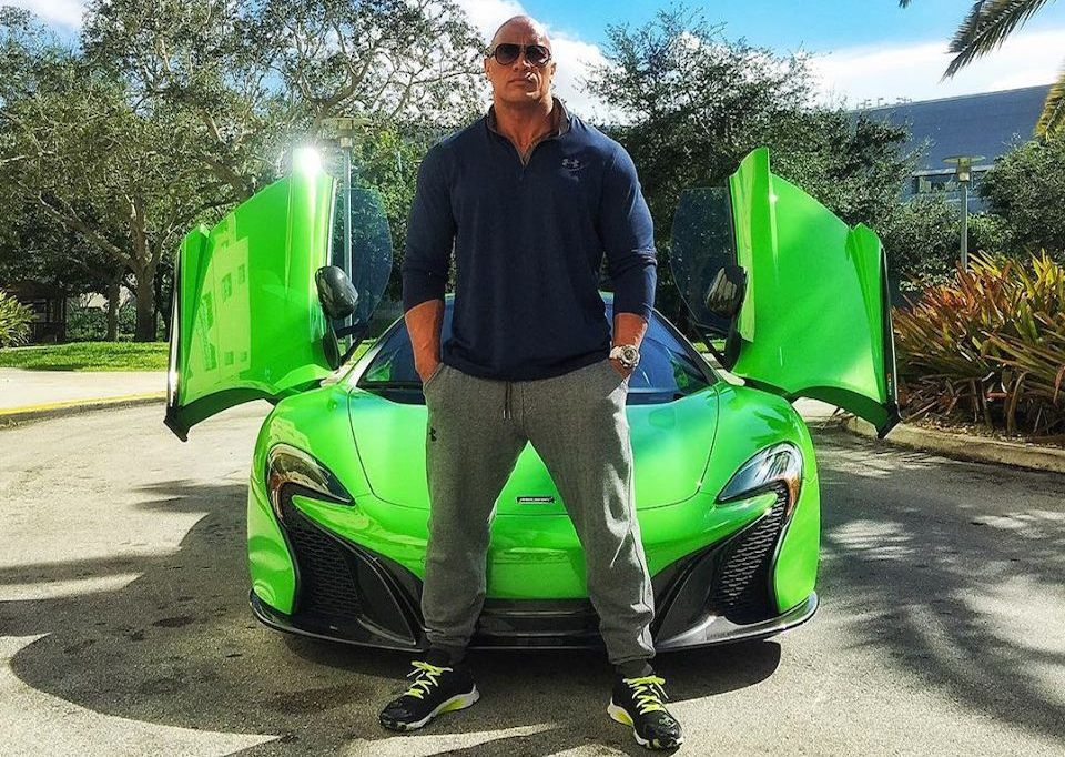 Dwayne Johnson And The Supercars Of Ballers