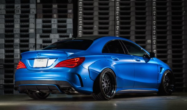 Fairy Design Mercedes CLA 0 600x353 at Fairy Design Mercedes CLA Wide Body