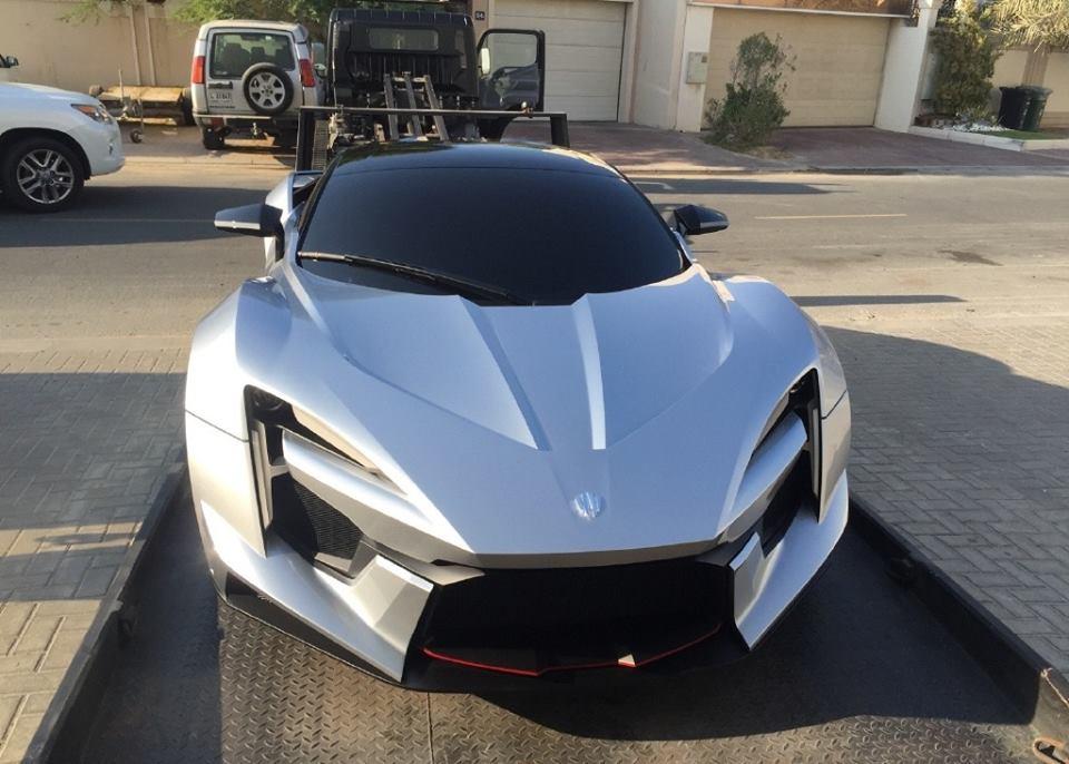 W Motors Fenyr >> W Motors Fenyr SuperSport Spotted in Dubai
