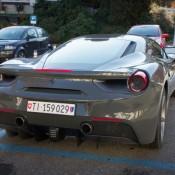 Grigio Ferro Ferrari 488 GTB 3 175x175 at Grigio Ferro Ferrari 488 GTB Spotted in Lugano
