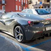 Grigio Ferro Ferrari 488 GTB 5 175x175 at Grigio Ferro Ferrari 488 GTB Spotted in Lugano