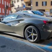 Grigio Ferro Ferrari 488 GTB 6 175x175 at Grigio Ferro Ferrari 488 GTB Spotted in Lugano