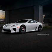 Lexus LFA PUR 1 175x175 at Lexus LFA on PUR Wheels Is Pure Eye Candy