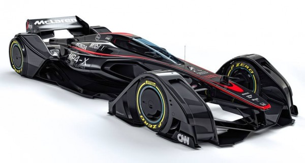 McLaren MP4 X 0 600x321 at McLaren MP4 X Previews F1 Cars of Tomorrow