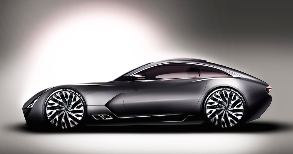 New TVR at New TVR Sports Car Previewed