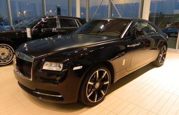 Rolls Royce Wraith Carbon Fiber 0 600x386 at Rolls Royce Wraith Carbon Fiber Limited Edition