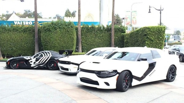 Star Wars Themed Dodge 0 600x336 at Dodge Hits L.A. in Star Wars Themed Cars