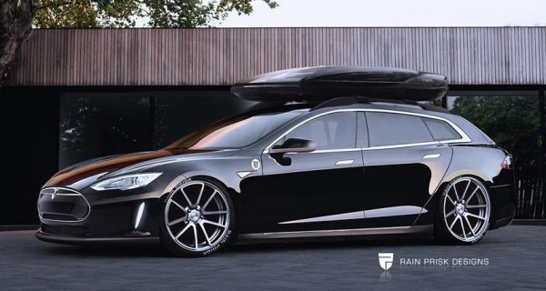 Tesla Model S Wagon 600x320 at Build It Now: Tesla Model S Wagon