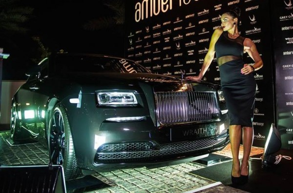 Wraith Inspired By Music AD 0 600x395 at Rolls Royce Wraith Inspired By Music Showcased in Abu Dhabi
