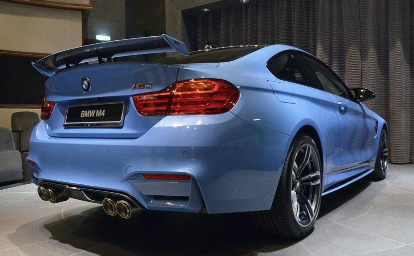Gallery: Custom Yas Marina Blue BMW M4
