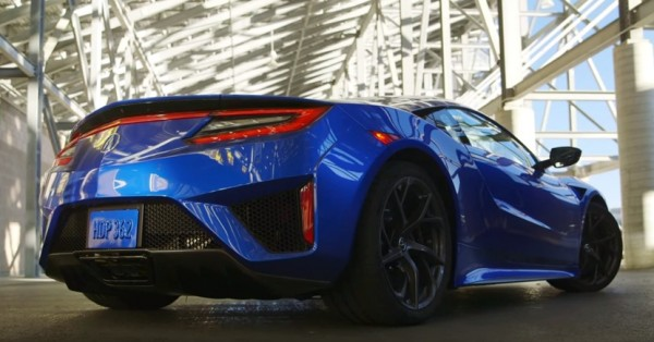 acura nsx test 600x314 at 2017 Acura NSX   First Track Test Review