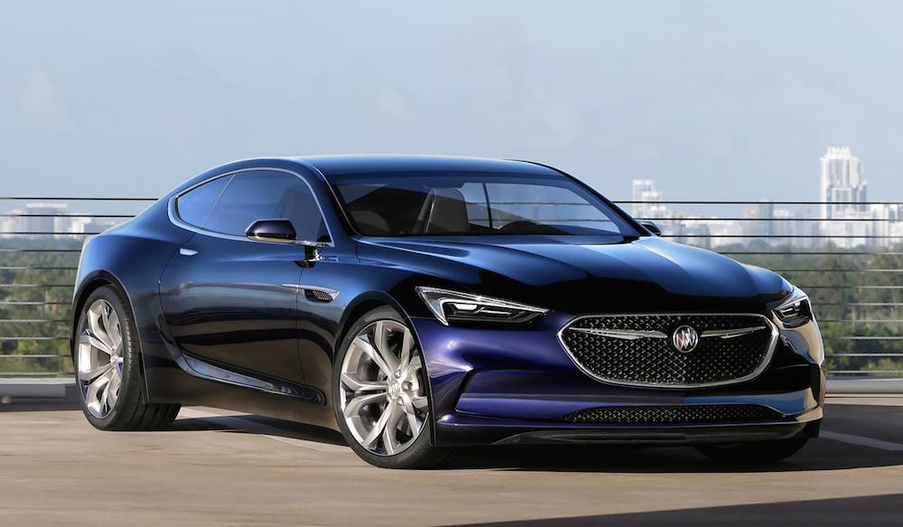 Buick Avista Concept 0 at 2016 NAIAS: Buick Avista Concept
