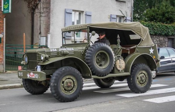 Dodge WC56 0 600x385 at Vintage Military Dodge WC56 Spotted in France
