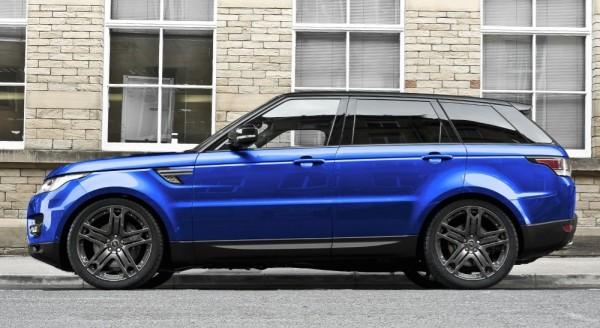 Estoril Blue Kahn Range Rover Sport 0 600x328 at Kahn Range Rover Sport in Estoril Blue