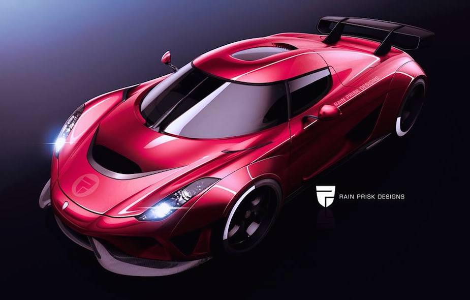 Rendering Koenigsegg Regera R