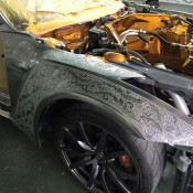 Kuhl Racing Nissan GT R Gold 17 175x175 at Kuhl Racing Nissan GT R with Engraved Gold Metal Paint