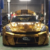 Kuhl Racing Nissan GT R Gold 2 175x175 at Kuhl Racing Nissan GT R with Engraved Gold Metal Paint
