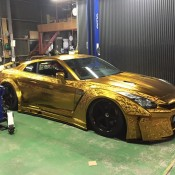Kuhl Racing Nissan GT R Gold 3 175x175 at Kuhl Racing Nissan GT R with Engraved Gold Metal Paint