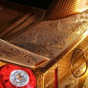 Kuhl Racing Nissan GT R Gold 6 175x175 at Kuhl Racing Nissan GT R with Engraved Gold Metal Paint