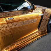 Kuhl Racing Nissan GT R Gold 7 175x175 at Kuhl Racing Nissan GT R with Engraved Gold Metal Paint