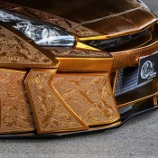 Kuhl Racing Nissan GT R Gold 8 175x175 at Kuhl Racing Nissan GT R with Engraved Gold Metal Paint