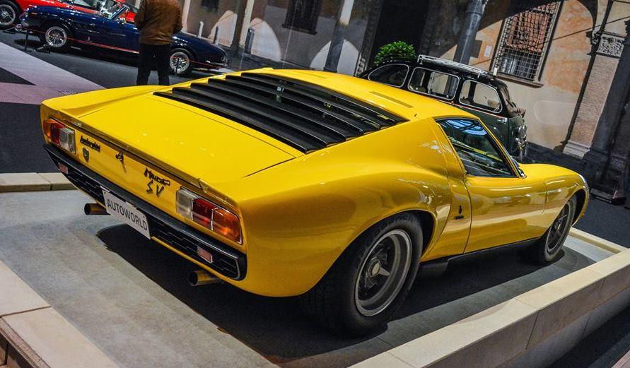 Spotlight Lamborghini Miura At Brussels Auto Show