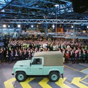 Last Defender 2 175x175 at Last of the Current Land Rover Defender Rolls Off the Line