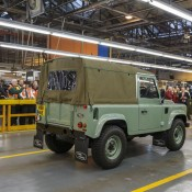 Last Defender 3 175x175 at Last of the Current Land Rover Defender Rolls Off the Line