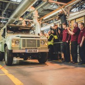 Last Defender 4 175x175 at Last of the Current Land Rover Defender Rolls Off the Line
