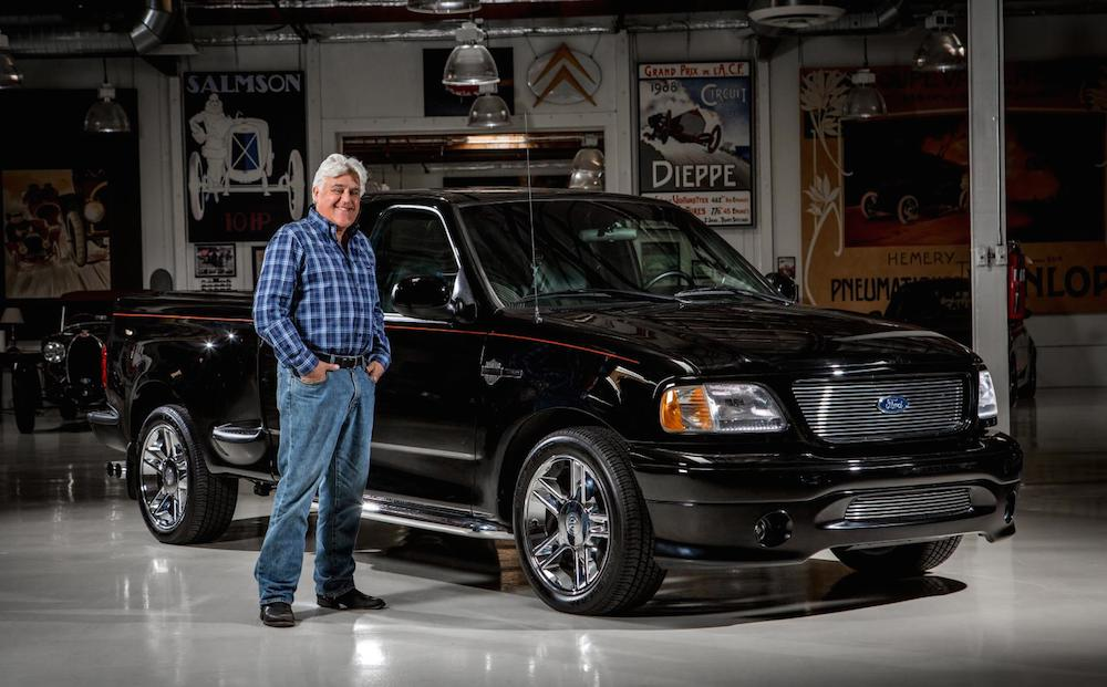 Jay Leno Auctions Off Harley-Davidson Ford F-150