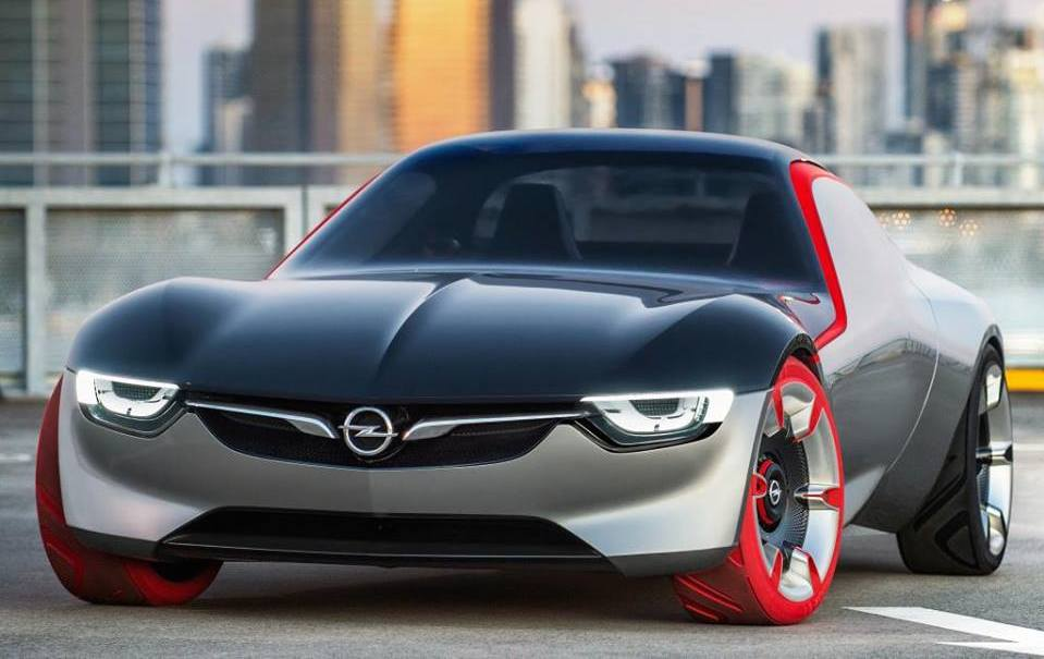 Opel GT Concept 0 at First Look: Opel GT Concept