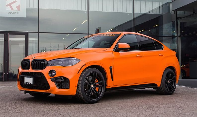 Orange Crush Bmw X6m By Pfaff