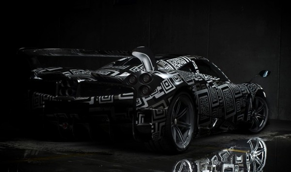 Pagani Huayra BC teaser 1 600x355 at Pagani Huayra BC Officially Teased