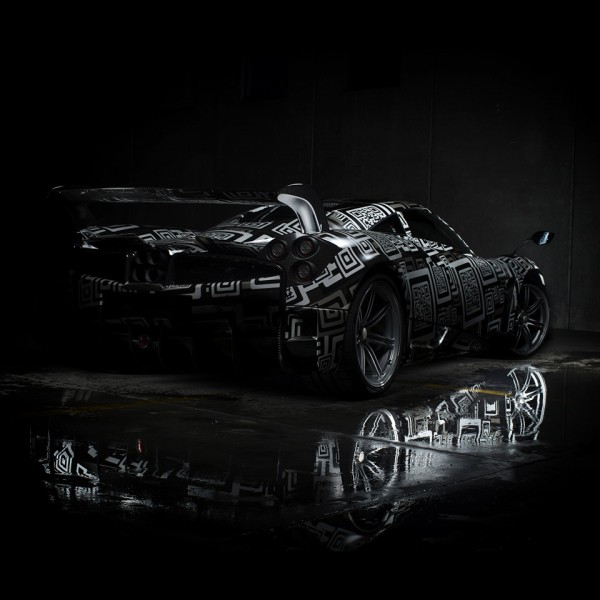 Pagani Huayra BC teaser 2 600x600 at Pagani Huayra BC Officially Teased