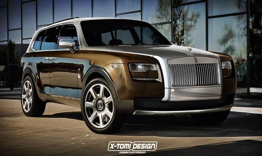 Honda Utility Vehicle >> Rendering: Rolls-Royce Cullinan SUV
